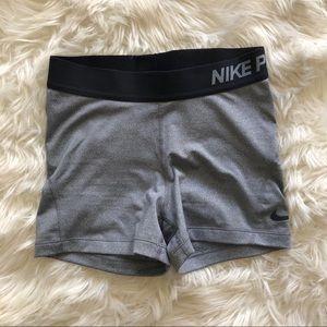 Nike Pro Dri-Fit Gray Spandex